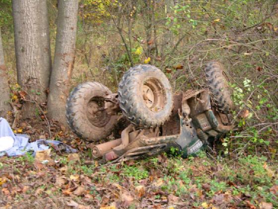 Chevy Silerado ATV Crashes